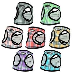 Plaid Mesh Step In Harness