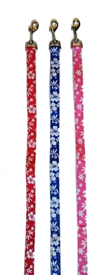 Hibiscus Canvas Leashes - MOVED TO CANVAS LEASHES