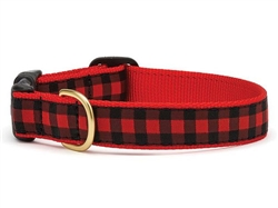 Buffalo Check Collars and Leashes by Up Country