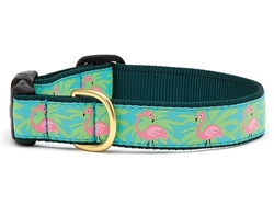 Flamingo Collars and Leashes by Up Country