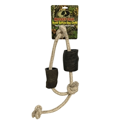 QT Dog - Mossy Oak Buffalo Tug Chew