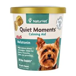 NaturVet Quiet Moments Plus Melatonin