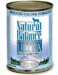 Natural Balance Original Ultra Reduced Calorie Formula Canned Dog Food 13oz (Case of 12)