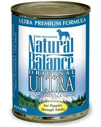 Natural Balance Original Ultra Ultra Premium Formula Canned Dog Food 13oz (Case of 12)