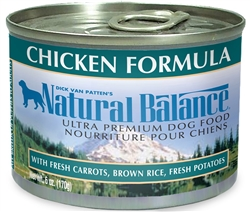 Natural Balance Ultra Premium Chicken Formula Canned Dog Food (Case of 12)