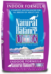 Natural Balance Indoor Ultra Premium Formula Dry Cat Food