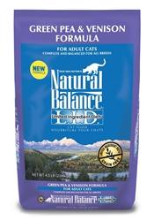Natural Balance LID Green Pea & Venison Formula Cat Food