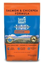 Natural Balance LID Indoor Cat Salmon & Chickpea Formula