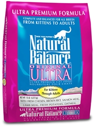 Natural Balance Original Ultra Ultra Premium Formula Dry Cat Food