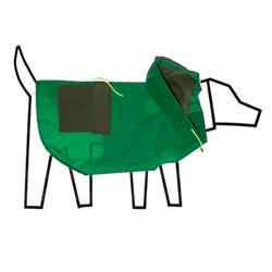 Colorblock Anorak Raincoat Green/Olive