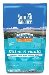 Natural Balance Ultra WBH Chicken, Duck, Salmon Kitten Dry Cat Food