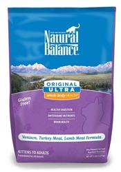 Natural Balance Ultra Whole Body Health Venison/Turkey/Lamb Dry Cat Food