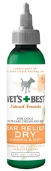 Veterinarian's Best Ear Relief Dry 4oz