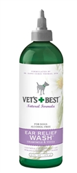 Veterinarian's Best Ear Relief Wash 16oz