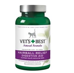 Veterinarian's Best Hairball Relief 60 Tabs