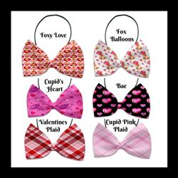 Valentine Collection Pet Bow Ties