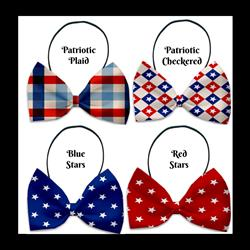 Patriotic Collection Pet Bow Ties