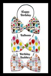 Birthday Collection Pet Bow Tie