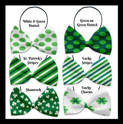 St. Patrick's Collection Pet Bow Ties