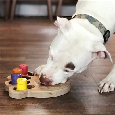 Busy Paw Interactive Pet Toy/Feeder