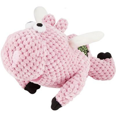 Checkers Flying Pig by GoDog