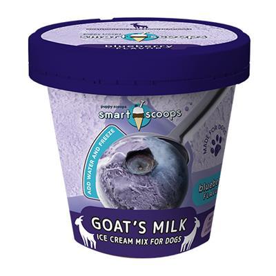 Smart Scoops Goat's Milk Ice Cream Mix - Blueberry 4.65 oz