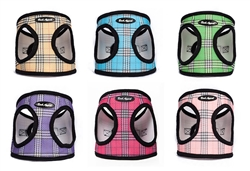 STARTER PACKAGE - 24 Plaid Mesh EZ Wrap Step In Harnesses