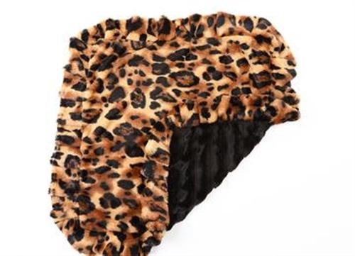 Big Cat top & Ruffle with Black mink bottom