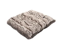 Gator with Grey Shag Pillow Bed