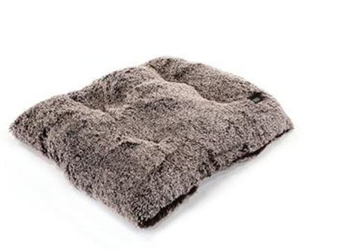 Chocolate Frosted Shag Pillow Bed