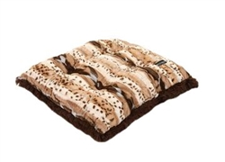 Cookies N Cream with Chocolate Shag Pillow Bed