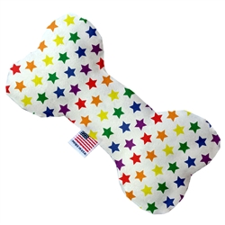Rainbow Stars Pride Bone Dog Toy