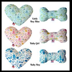 Baby Collection Heart and Bone Dog Toy