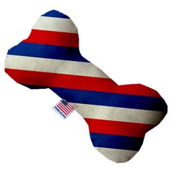 Patriotic Stripes Bone Dog Toy