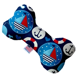 Anchors Away Bone Dog Toy