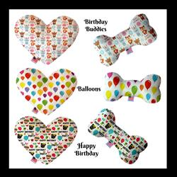 Birthday Collection Dog Toys