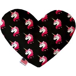 Pretty Pink Unicorns Heart Dog Toy