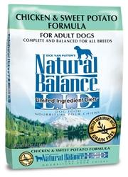 Natural Balance LID Chicken & Sweet Potato Formula Dry Dog Food
