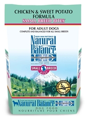 Natural Balance LID Chicken & Sweet Potato Small Breed Bites Dry Dog Food