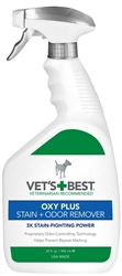 Veterinarian's Best OXY PLUS Stain and Odor Remover Trigger Spray 32oz