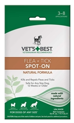 Veterinarian's Best Flea and Tick Spot-On 0.6oz