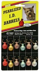 PEARLIZED I.D. BARRELS 12/CARD