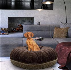 Bagel Bed- Camel Rose and Godiva Brown -  or Customize your Own