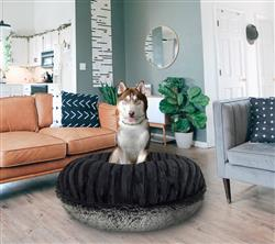 Bagel Bed - Midnight Frost and Black Puma or Customize your Own