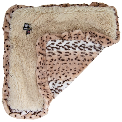 Blanket- Aspen Snow Leopard and Blondie or  Custom Blanket