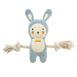 Jack Blue Bunny Rope toy (NEW)