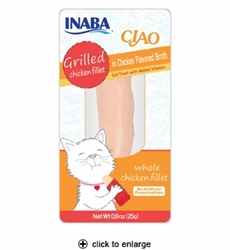 Inaba Ciao Grilled Chicken Fillet  Broth 0.9oz
