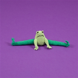 COTTON CROCHET FROG