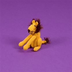 COTTON CROCHET LION