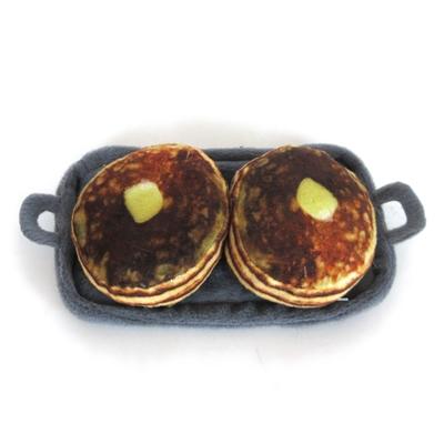 Griddle w/ Pancakes Cat Toy w/ Catnip